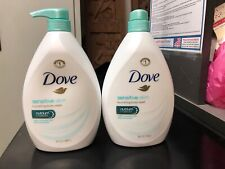 Dove Sensitive Skin Body Wash with Pump - 34oz