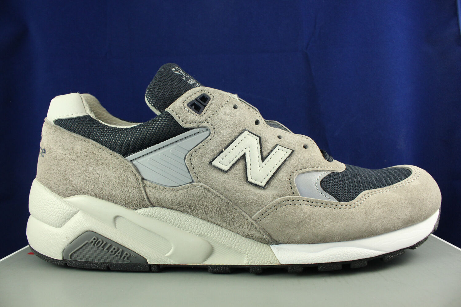 NEW BALANCE 585 BRINGBACK MADE IN USA GREY NAVY blueE M585GR SZ 7