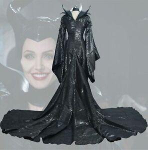 Details About 2019 Maleficent Of Evil Hexe Bose Konigin Overall Damen Kostum Fur Halloween