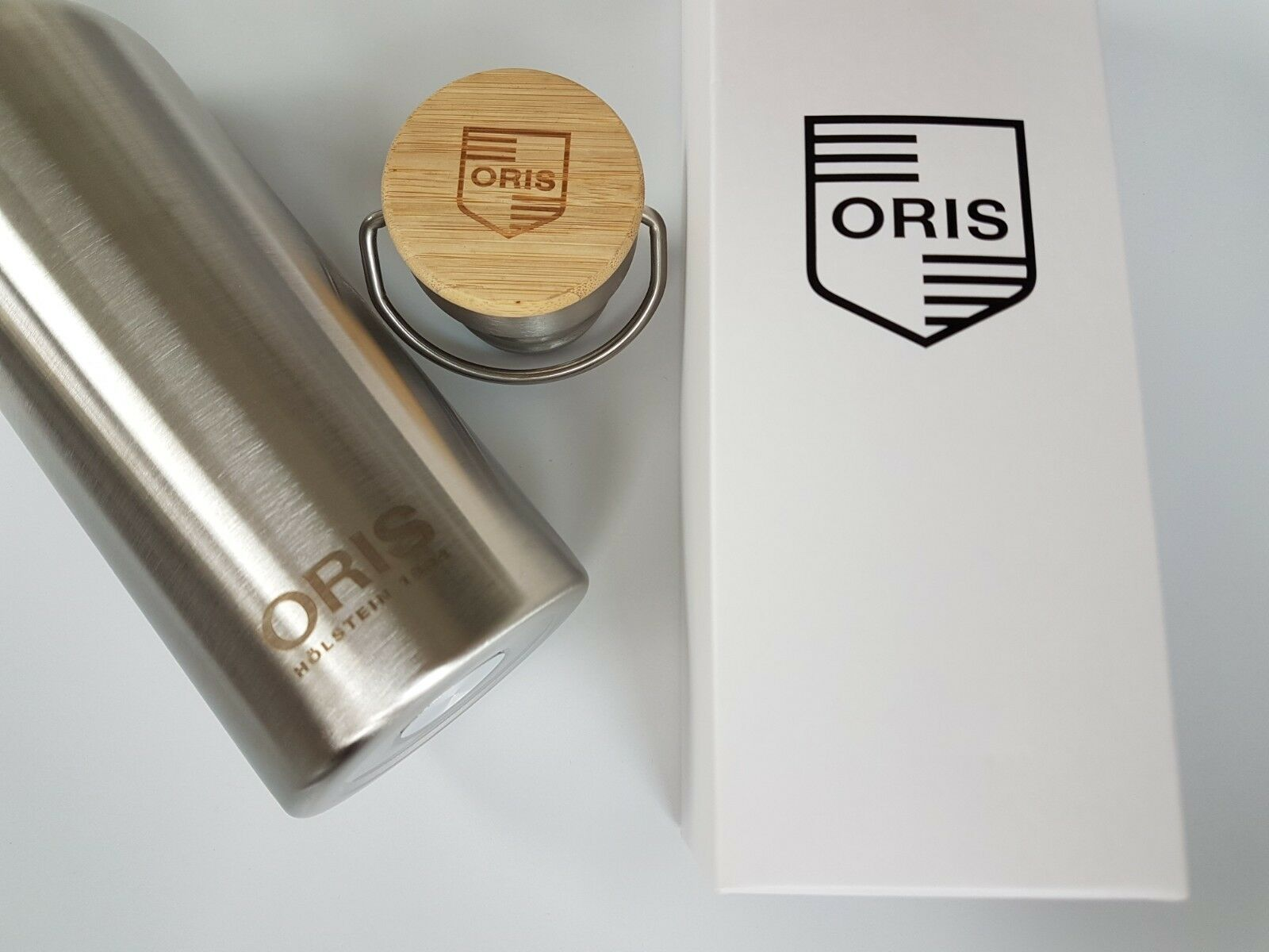 Oris Luxury Stainless  Steel Water Bottle New & Boxed  free shipping on all orders
