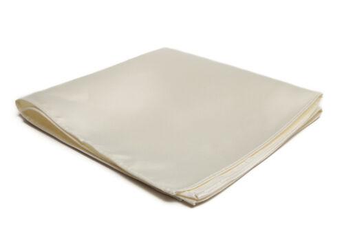Jacob Alexander Men/'s Pocket Square Solid Color Handkerchief