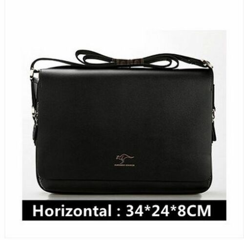 Messenger Shoulder Bags Men s Bags Business Work Bag Canvas Leather Polo Classic
