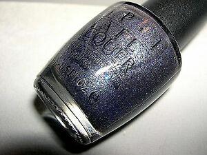 Opi Black Label Midnight Blue Glitter Nail Lacquer Tuxedo Nl T01 Htf