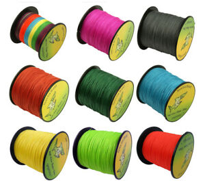 300M-Fishing-Line-4-Stands-4-Weave-6LB-100LB-Multicolor-Fishing-PE-Braided-Line