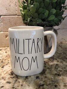 Rae-Dunn-034-MILITARY-MOM-Mug-Coffee-New-ARTISAN-COLLECTION
