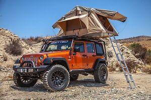 Jeep Wrangler Jk Tj Yj Smittybilt Overlander Roof Top Camping Tent W