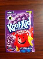 Kool-Aid Grape Unsweetened Soft Drink Mix, 0.14-Ounce Envelopes (Pack of 96) Food and Drink