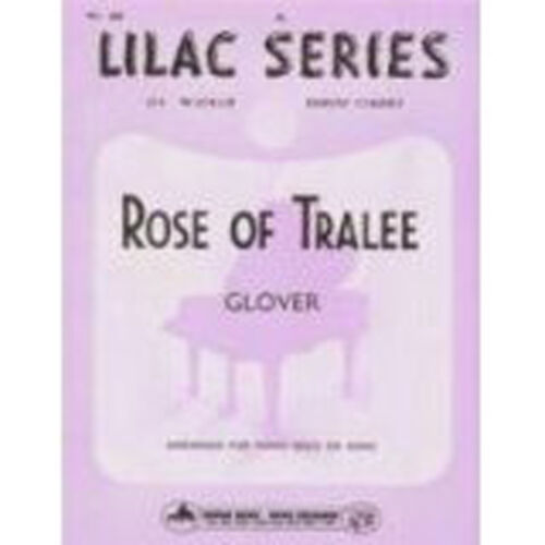 The Lilac Series No 38 Rose of Tralee for Piano by Glove Sheet Music Book B31