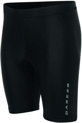 Dare2B Stay Seated Junior Padded Cycling Shorts Black Kids Youths Age 13