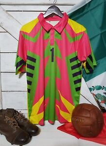 d3273c997b1 Image is loading Mexico-Pink-1998-Jorge-Campos-1-Goalkeeper-Jersey-
