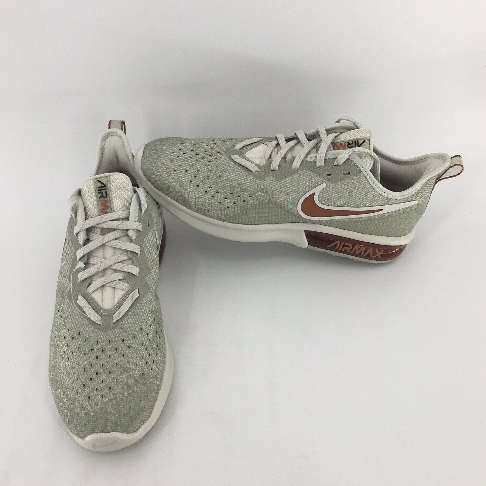 "Nike Air Max Sequent 4 ""Light Bone"" (AO4485-007) Training shoes Men's Size 9"