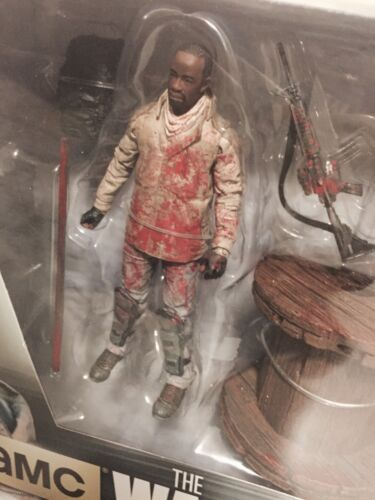 Walking Dead AMC TV Series 8 Morgan /& Spike Trap Zombie 2 Pack by McFarlane
