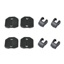 For Ford Fiesta Focus Car Door Striker Lock Protector+Check Arm Cover