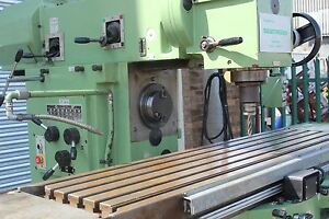 Universal-Miller-horizontal-vertical-milling-machine-little-use