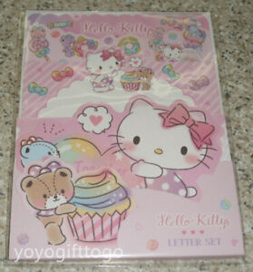 Sanrio Hello Kitty Letter Stationery Set Pink