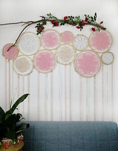 Large Boho Dream Catcher Dreamcatcher Wall Hanging Decor Craft Gift Ornament new
