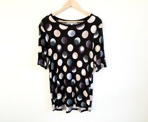 amp-Other-Stories-Top-Size-EU-42-Black-With-Spots-Design-Tshirt-Short-Sleeve