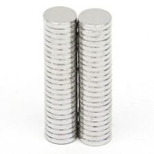 50 tlg Runder Starke Neodym Magnete N52 Neodymium Permanentmagnet 5mm x 1mm