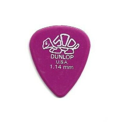 HVY 72 DUNLOP Black CLASSIC Guitar Picks Standard Heavy Gauge NEW