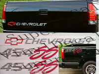 454 Ss 454ss Chevrolet Tailgate/bedside Decal Kit 92-93