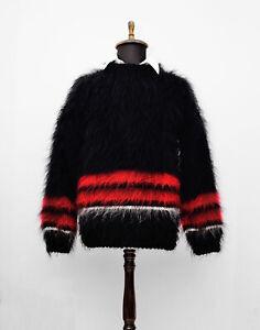 pull over black sweater jumper Handmade sweater