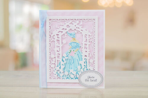 Tattered Lace Country Manor Sarah Craft Die Set FREE 1st CLASS UK P/&P TLD0385