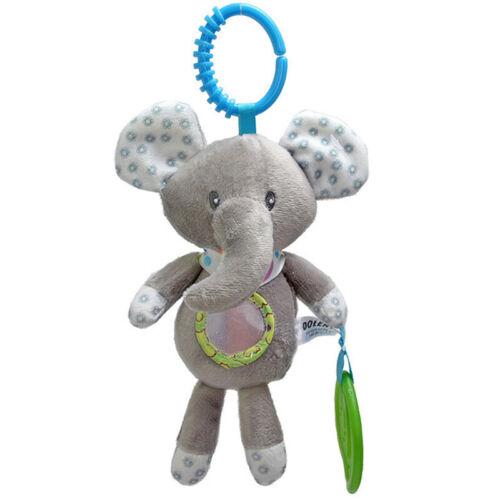 Pram Crib Baby Rattles Cotton Toys Hanging Soft Plush Animal Toys Gifts T
