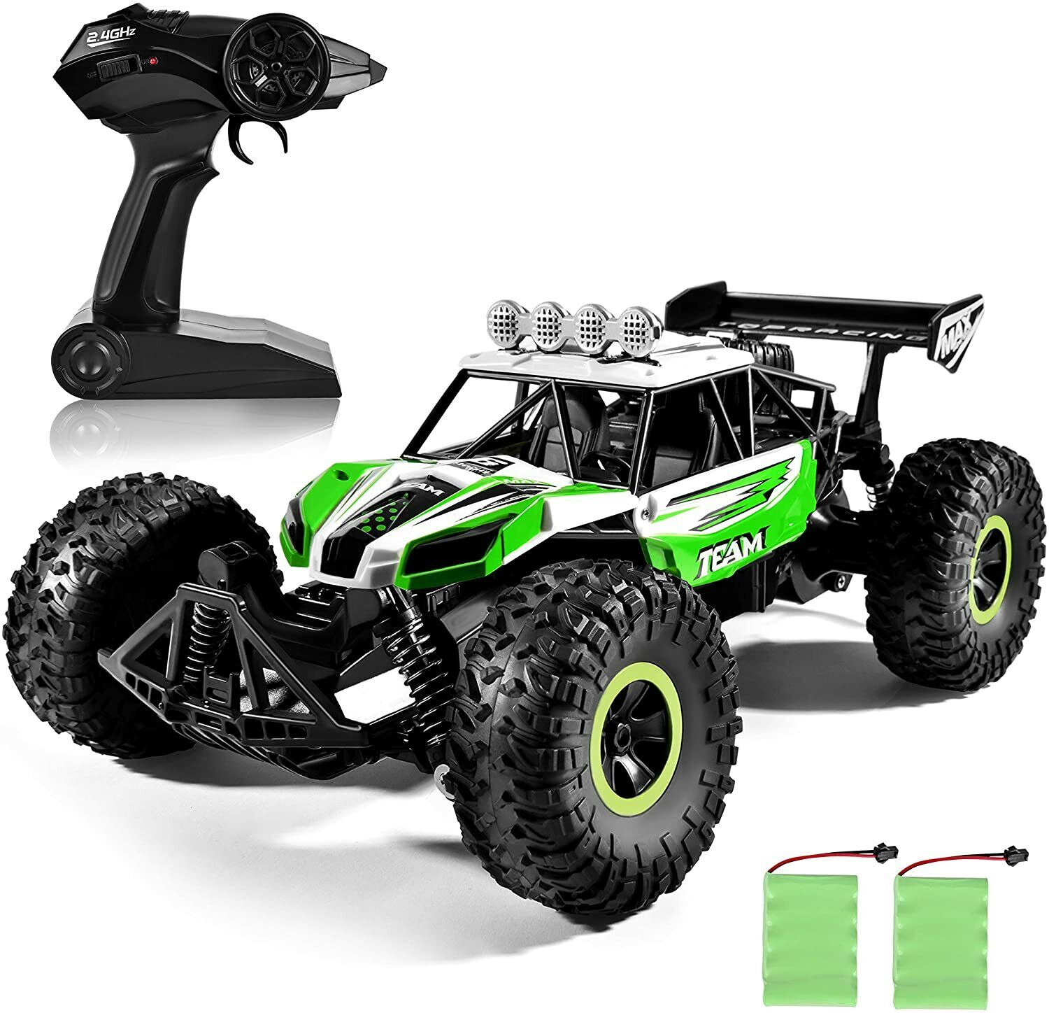 1 16 Scale Remote Control Rc Car Beach Off Road Vehicle Toy Green Black For Sale Online Ebay