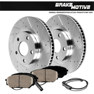 Front-Brake-Disc-Rotors-and-Ceramic-Pads-For-BMW-E46-Z4-323i-325Ci-325i-328i