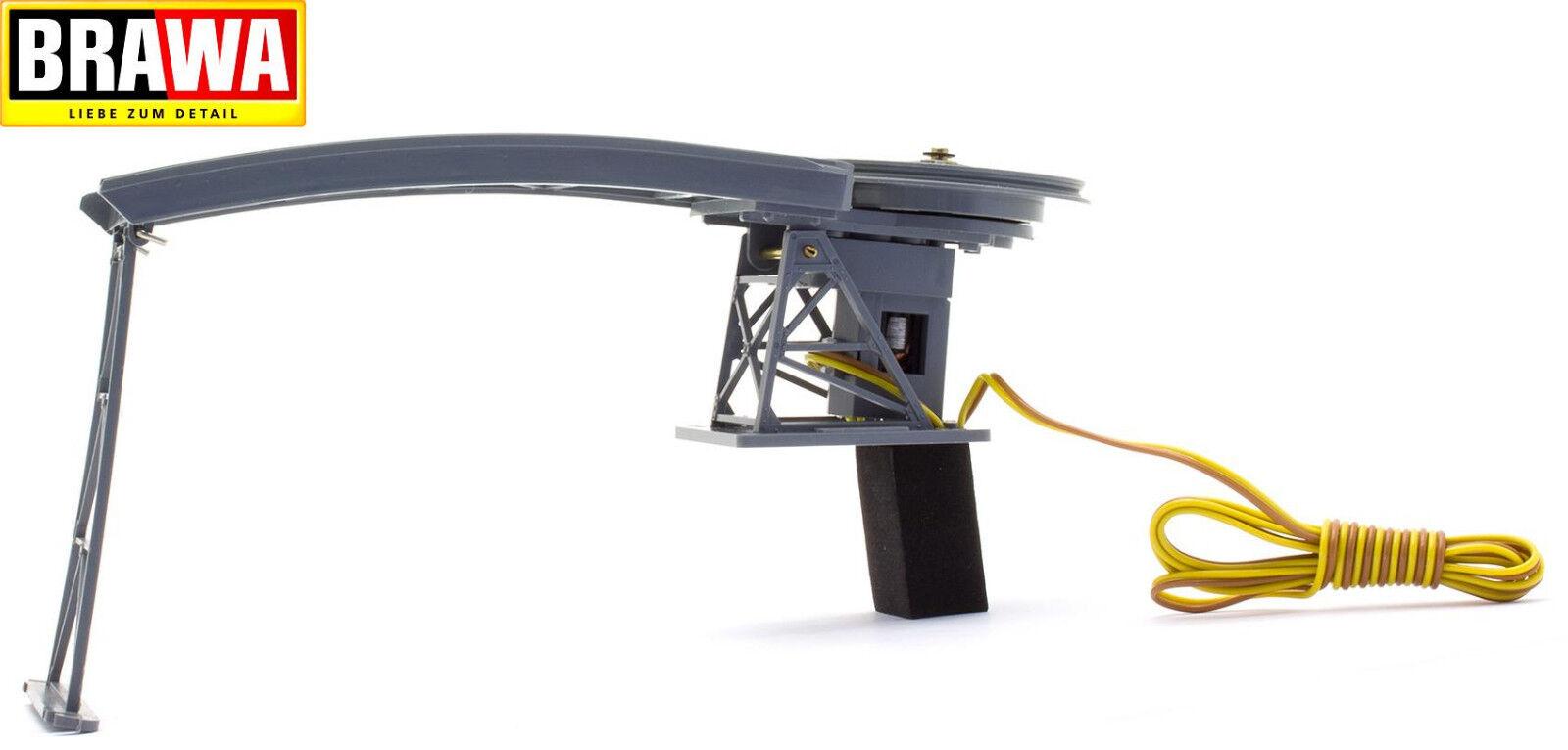 Brawa h0 6285 funicular montaña estación completo con motor-nuevo + embalaje original