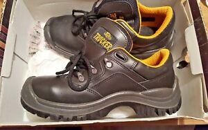 cfbcbb93557 Details about Trucker T6050 Black Safety Shoe S3 - size 6 UK 39 Euro