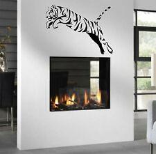 WD Wandtattoo Tiger Asien Afrika Wandaufkleber Wandsticker Wohnzimmer Flur XXL