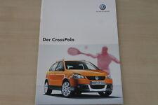 185040) VW Polo CrossPolo Prospekt 10/2006