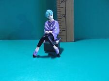 """#922 GUNDAM HEROINES Anime Lady in Purple and Black Outfit  2.5""""in Figure"""