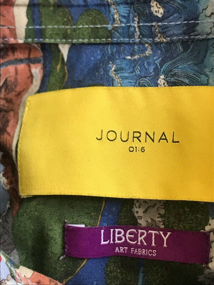Skjorte, Journal , str. M, Print, LIBERTY art
