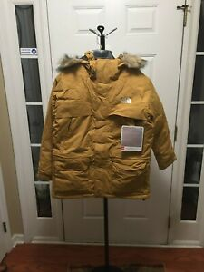 The-North-Face-CHILDREN-039-S-YOUTH-Boys-McMurdo-Parka-Wheat-or-Brown-you-choose