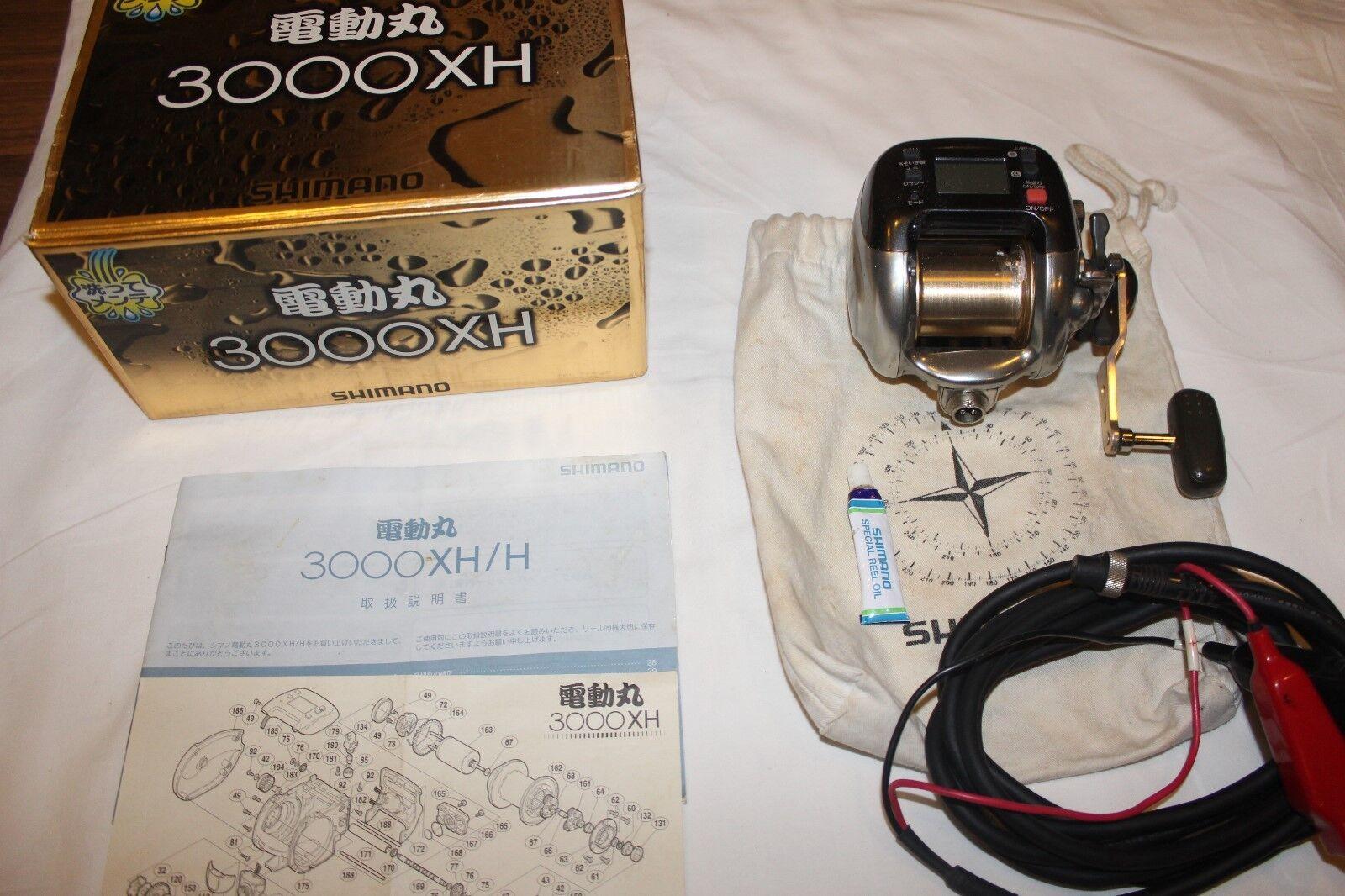 SHIMANO DENDOU-MARU 3000 XH-ELEKTROROLLE-MADE IN JAPAN-Nr 636