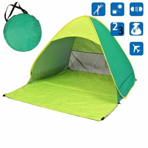 Portable Tent Camping Fishing Beach Waterproof Folding Pop up Sun Shade Cover