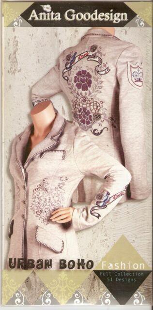 Anita Goodesign Urban Boho Embroidery Machine Design Cd 80aghd Ebay