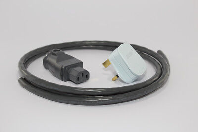 Supra Lorad 1.5 Power Cable (1.5m) With 13a Uk Plug & 10a Iec (diy)