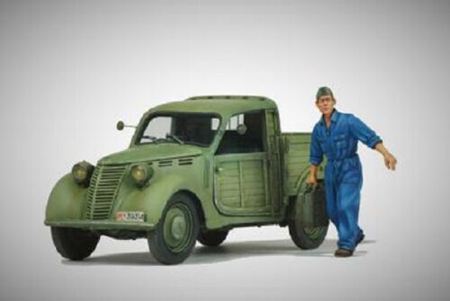 MODEL VICTORIA FIAT CAMIONCINO 1110 WITH 1 FIGURE Scala 1:35 Cod.40110 NOVITA'!!