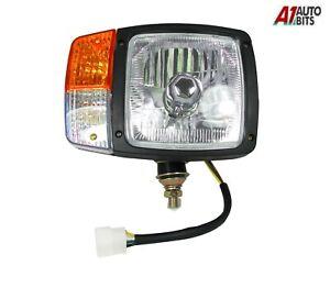 Details about Rh Right JCB Telehandler Loader Loadall Headlight Head Light  Lamp Wired Headlamp