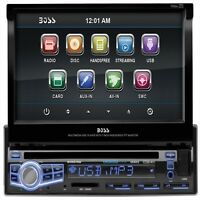 "BLUETOOTH 7"" LCD TOUCHSCREEN CAR STEREO DVD CD MP3 PLAYER FM RADIO USB/SD AUX"