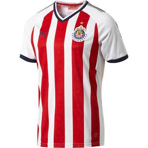 68c43668dca Puma Chivas De Guadalajara 2017 - 2018 Home Soccer Jersey New Red ...