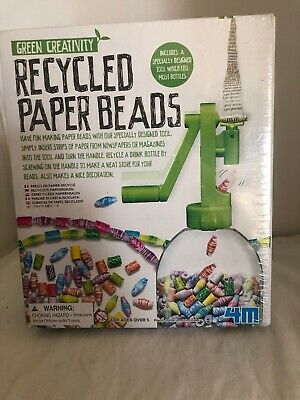4M Recycled Paper Beads Kit Toysmith 4612