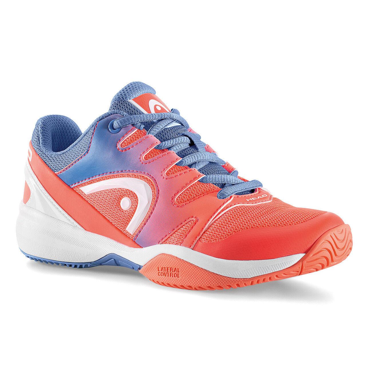 Head Sprint 2.0 Zapatos tenis de rendimiento Junior Jr. Marine Coral 275128