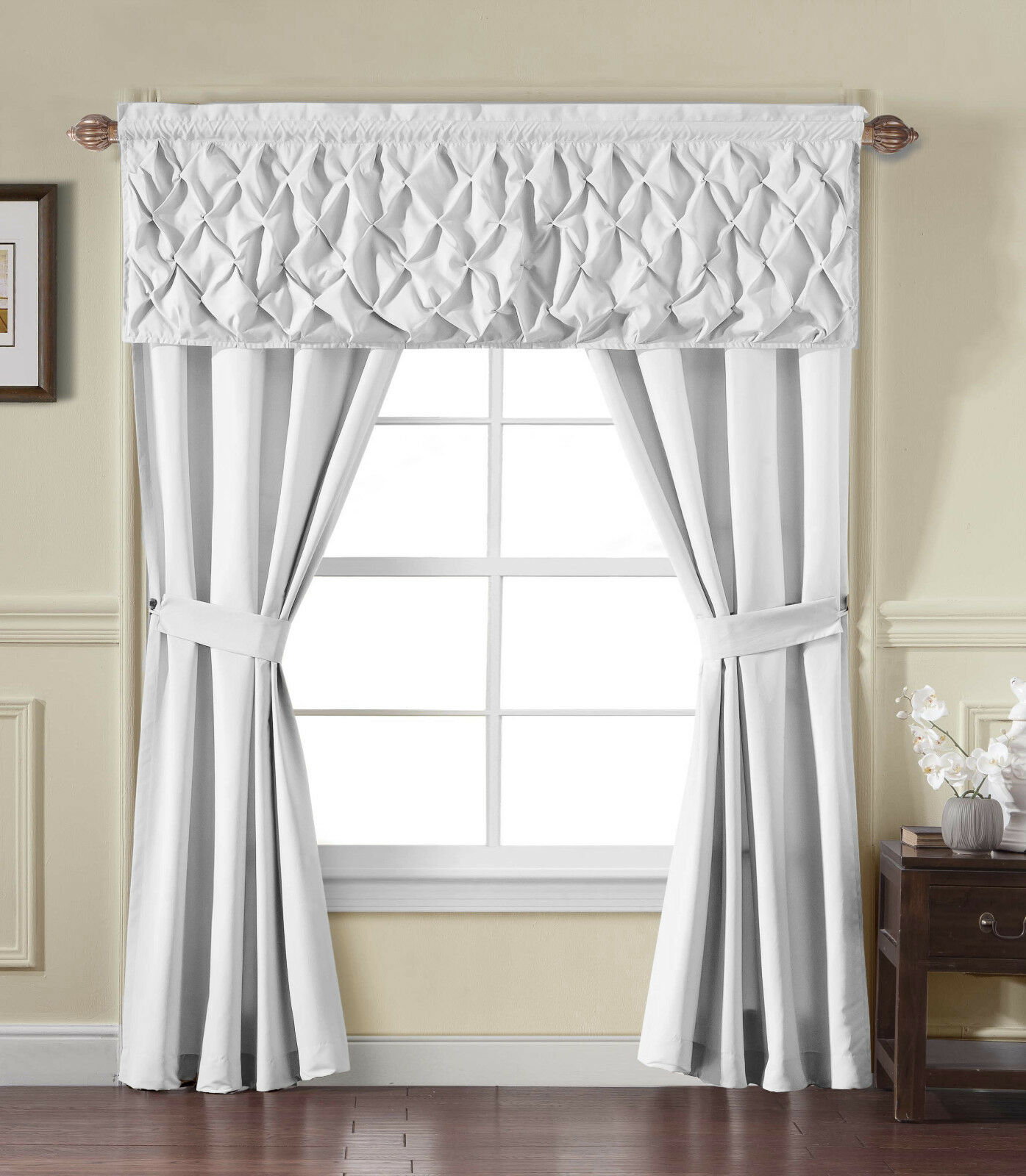 Alcove Home™ Carmen Complete 5 Pc. Window in a Bag Curtain Set - Assorted Colors