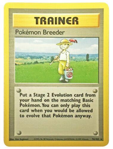 Base Set Non Holo Rares Pokemon Cards Dugtrio Pidgeotto Dragonair Electrode