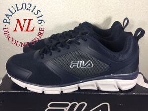 fbefcf23fd7a Fila Men s Memory Steelsprint Athletic Shoes ~ Navy ~ Various Sizes ...