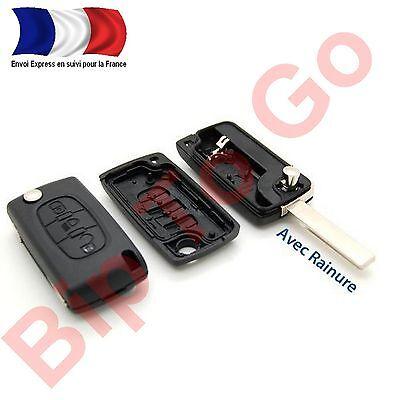 Diligente Plip Cle TÉlÉcommande 3 Boutons + Citroen C1 C2 C3 C4 C5 Phare Ce0536 Picasso Stile (In) Alla Moda;